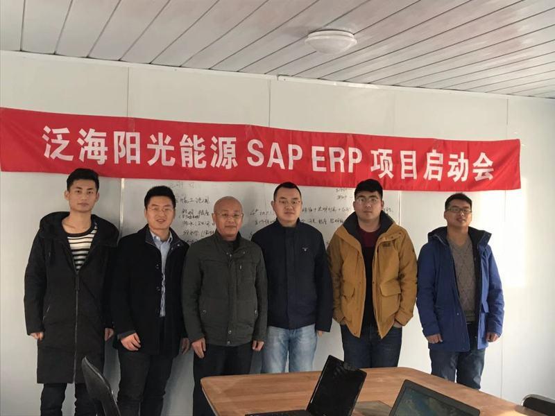 艾舜杰SAP ERP项目